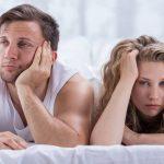A relação começa com a frustração